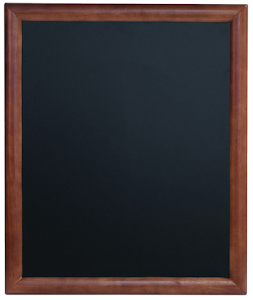 Image of a Framed Wall Chalk Boards