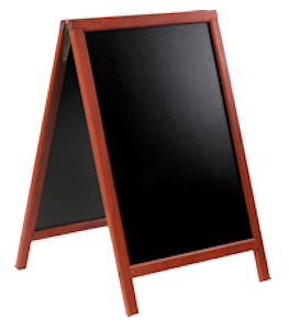 Image of Sandwich Chalk Board