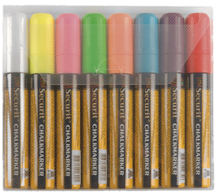 Image of 8 Pack Assorted Colours Chalk Markers
