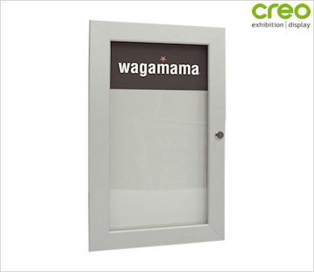 Outdoor menu display case from creo ireland for Exterior display case