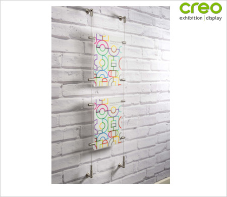 Image of a Wall Poster Hanging Kit