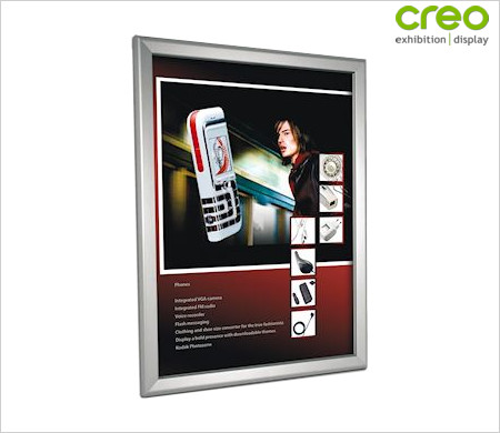 Image of a Security Snap Frame for Posters & Pictures