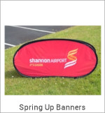 Image of Spring Up Banner