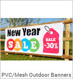 Image of a PVC Vinyl Outdoor Banner