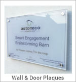 Image of a Wall & Door Plaques