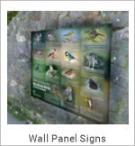 Image of a Wall Panel Sign